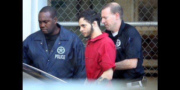 Esteban Santiago is taken from the Broward County main jail as he is transported to the federal courthouse...