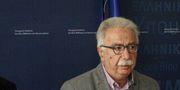Τον προβληματισμό του για την ποιότητα του απολυτηρίου στο τέλος του Λυκείου, εκφράζει ο υπουργός
