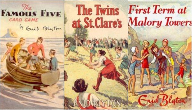 "Many of Blyton's books included a ""tomboy"" character—George in The Famous Five,..."