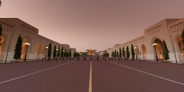 Al Alam Palace, Old Muscat, Muscat,