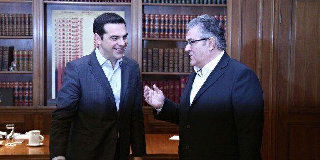 Κουτσούμπας μετά τη συνάντηση με Τσίπρα: Λύση του Κυπριακού σημαίνει ένα κράτος και όχι