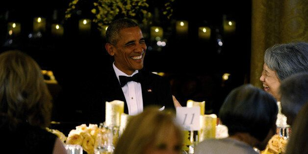 U.S. President Barack Obama and first lady Michelle Obama host a state dinner for Singapore Prime Minister...