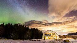 Μια οικογένεια έχτισε το δικό της σπίτι στον Αρκτικό Κύκλο και είναι πιο εντυπωσιακό από το Βόρειο