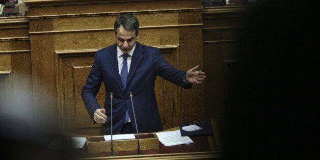 Εκλογές και πολιτική αλλαγή ζήτησε ο Μητσοτάκης από το βήμα της Βουλής κατά την προ ημερησίας