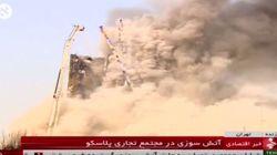 Πολύνεκρη τραγωδία στην Τεχεράνη από κατάρρευση φλεγόμενου