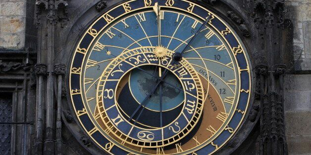 Astronomical Clock, The Clock Tower. (Photo by: Godong/UIG via Getty