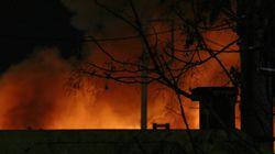 Προανακριτική διαδικασία για τη φωτιά σε υπαίθρια αποθήκη ελαστικών στον