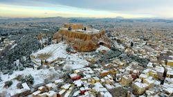 Οι χρήστες του Instagram πόσταραν τις καλύτερες φωτογραφίες που θα δείτε από την χιονισμένη