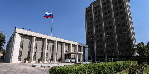 DAMASCUS, SYRIA. APRIL 4, 2016. The Russian Embassy in Damascus. Valery Sharifulin/TASS (Photo by Valery...