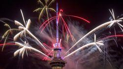 Αυτστραλία και Νέα Ζηλανδία υποδέχθηκαν πρώτες το νέο έτος «φωτίζοντας» τον