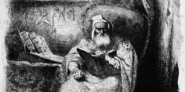 UNSPECIFIED - MAY 25: Michel de Nostredame known as Nostradamus (Saint-Remy-de-Provence, 1503-Salon-de-Provence,...