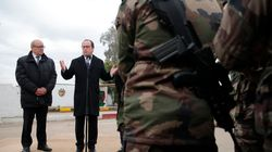 Στο Ιράκ ο Ολάντ, ενθαρρύνει τους Γάλλους στρατιώτες για τη μάχη κατά των