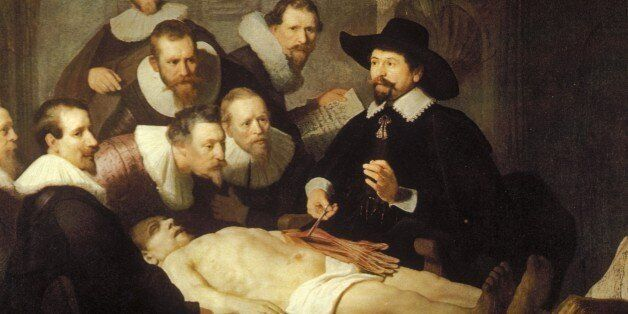 (GERMANY OUT) Paintings Rembrandt *15.07.1606-07.09.1669+ Painter, graphic artist, Netherlands painting 'The Anatomy Lesson of Doctor Nicolaes Tulp' - 1632 (Photo by Archiv Gerstenberg/ullstein bild via Getty Images)