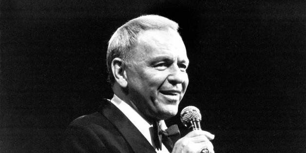 UNITED KINGDOM - SEPTEMBER 01:  ROYAL ALBERT HALL  Photo of Frank SINATRA, performing live onstage  (Photo by David Redfern/Redferns)