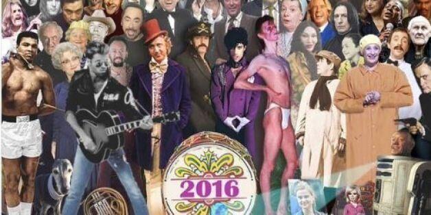 Ένα «αντίο» σε όλους τους διάσημους που έφυγαν το 2016 εμπνευσμένο από εξώφυλλο του Sgt Pepper των