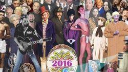 Ένα νοσταλγικό κολάζ με τους διάσημους που έφυγαν το 2016 εμπνευσμένο απ' το καλύτερο cover album των