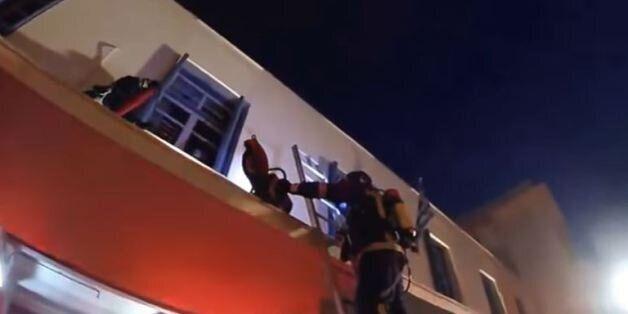 Έλληνες πυροσβέστες δοκίμασαν το Mannequin