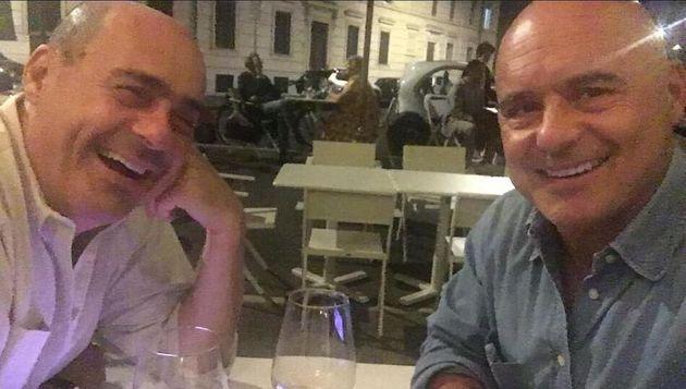 """""""Finalmente con il fratellone"""", Zingaretti pubblica una foto con il fratello Luca e fa il pieno di like"""