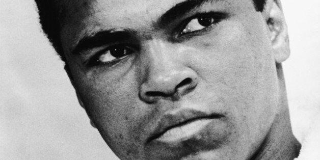 World heavyweight boxing champion Muhammad Ali (born 1942) in 1967. Photographed by Ira