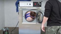 Άνδρας με χειροπέδες επιχειρεί να αποδράσει από πλυντήριο σε