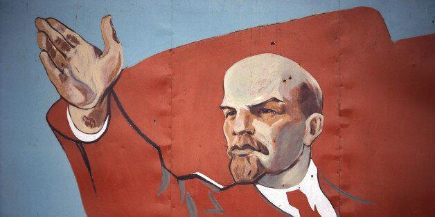 Mural of Vladimir Lenin (Photo by © Shepard Sherbell/CORBIS SABA/Corbis via Getty