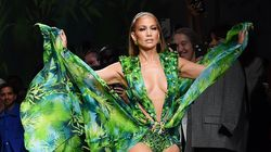 Jennifer Lopez Just Walked The Versace Runway In THAT Dress (Well,