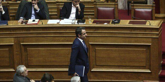Το «παρών» επέλεξε η ΝΔ για την ονομαστική ψηφοφορία στη Βουλή σχετικά με το βοήθημα στους