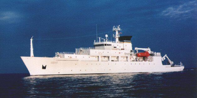 Το αμερικανικό ωκεανογραφικό σκάφος USNS