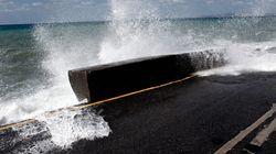Στο λιμάνι της Κάσου προσέκρουσε το πλοίο «Βιτσέντζος Κορνάρος» εξαιτίας ισχυρών