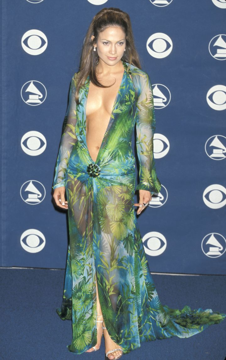 You never forget the first time seeing Jennifer Lopez in this iconic gown.