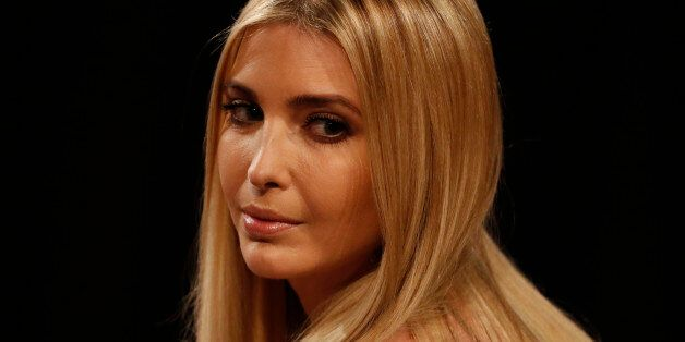 Ivanka Trump takes her seat before the third and final 2016 presidential campaign debate between Republican...