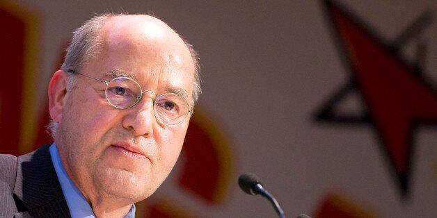 New President of the Party of the European Left Gregor Gysi (Die Linke) speaks after his election during...