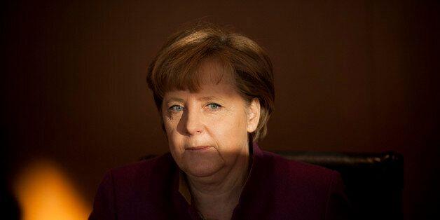 BERLIN, GERMANY - JANUARY 18: Angela Merkel, Member of the Christian Democratic Union and German Federal...
