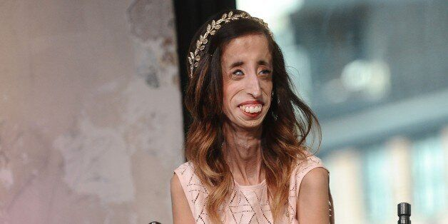 NEW YORK, NY - SEPTEMBER 24: Lizzie Velasquez attends AOL Build to discuss 'A Brave Heart:: The Lizzie...