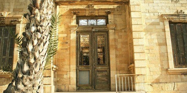 old broken house in Limassol,