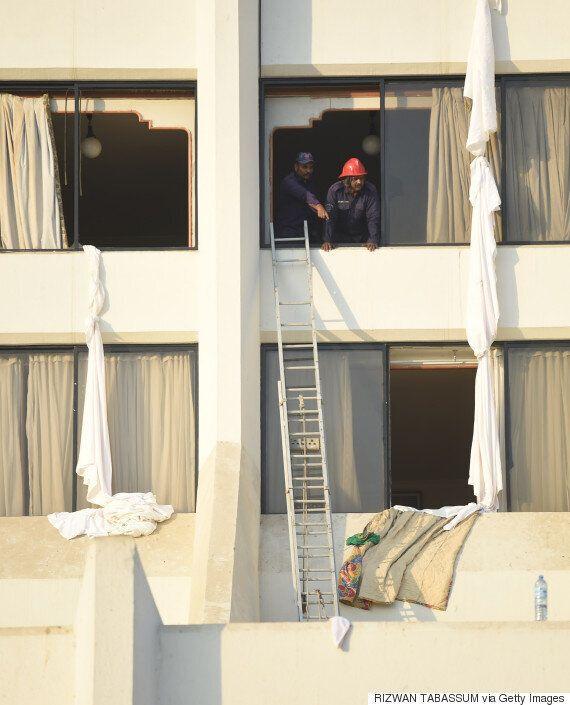 Τραγωδία σε ξενοδοχείο του Πακιστάν. Δεκάδες νεκροί από φωτιά που ξέσπασε στην