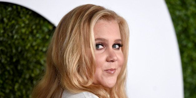 FILE - In this Dec. 3, 2014 file photo, Amy Schumer arrives at the GQ Men of the Year Party in Los Angeles. Schumer starred in her own comedy,