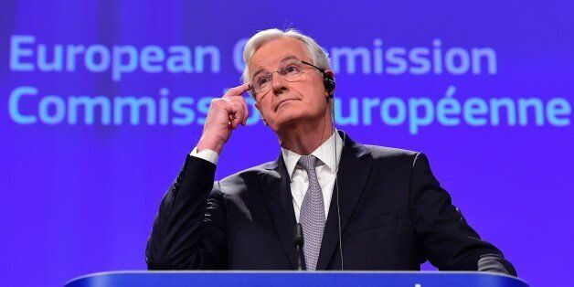 Michel Barnier, chief negotiator for the preparation and conduct of the negotiations with the United...