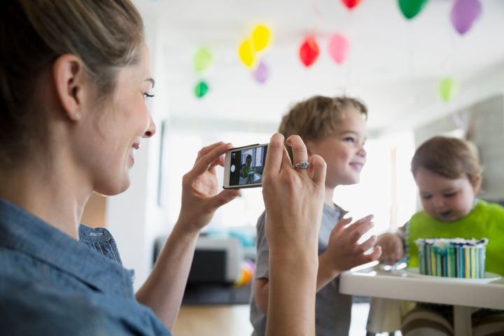 More than 80 per cent of survey respondents said they make their status as a mother known on social media.