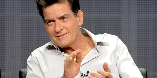 Actor Charlie Sheen from the FX
