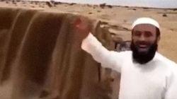 Κι όμως: Καταρράκτες στην έρημο της Σαουδικής