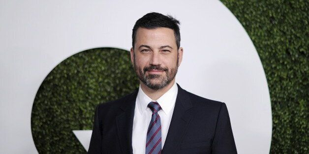 Television host Jimmy Kimmel poses during the GQ Men of the Year party in West Hollywood, California December 3, 2015. Picture taken December 3, 2015. REUTERS/Kevork Djansezian