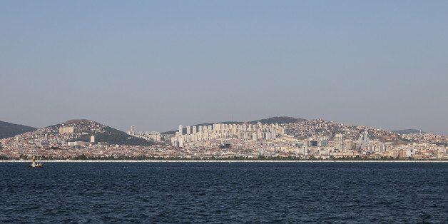 Buildings in Maltepe District, Istanbul City,