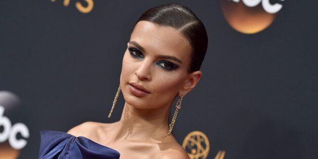 LOS ANGELES, CA - SEPTEMBER 18:  Actress Emily Ratajkowski arrives at the 68th Annual Primetime Emmy Awards at Microsoft Theater on September 18, 2016 in Los Angeles, California.  (Photo by Axelle/Bauer-Griffin/FilmMagic)