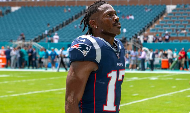 Antonio Brown Cut From New England Patriots Amid Sexual Assault Accusations