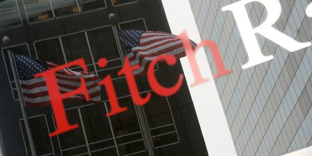 NEW YORK, UNITED STATES - MAY 21: Fitch Ratings, leading international credit rating institution, is...
