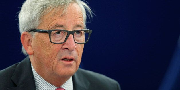 European Commission President Jean-Claude Juncker attends a debate on the preparation for the upcomming...