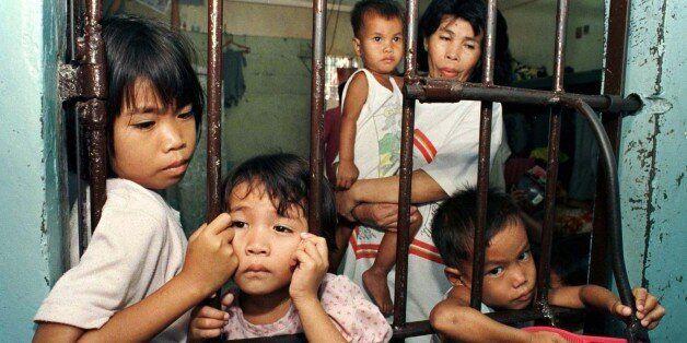 Στη φυλακή Quezon τα παιδιά μένουν με τη μητέρα τους στη
