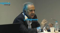 Επίθεση με μπογιές στον πρόεδρο των Ελληνικών Πετρελαίων σε διάλεξη στο πανεπιστήμιο