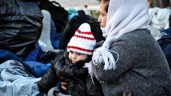 Ζωές στις λάσπες και το κρύο στη Σούδα της